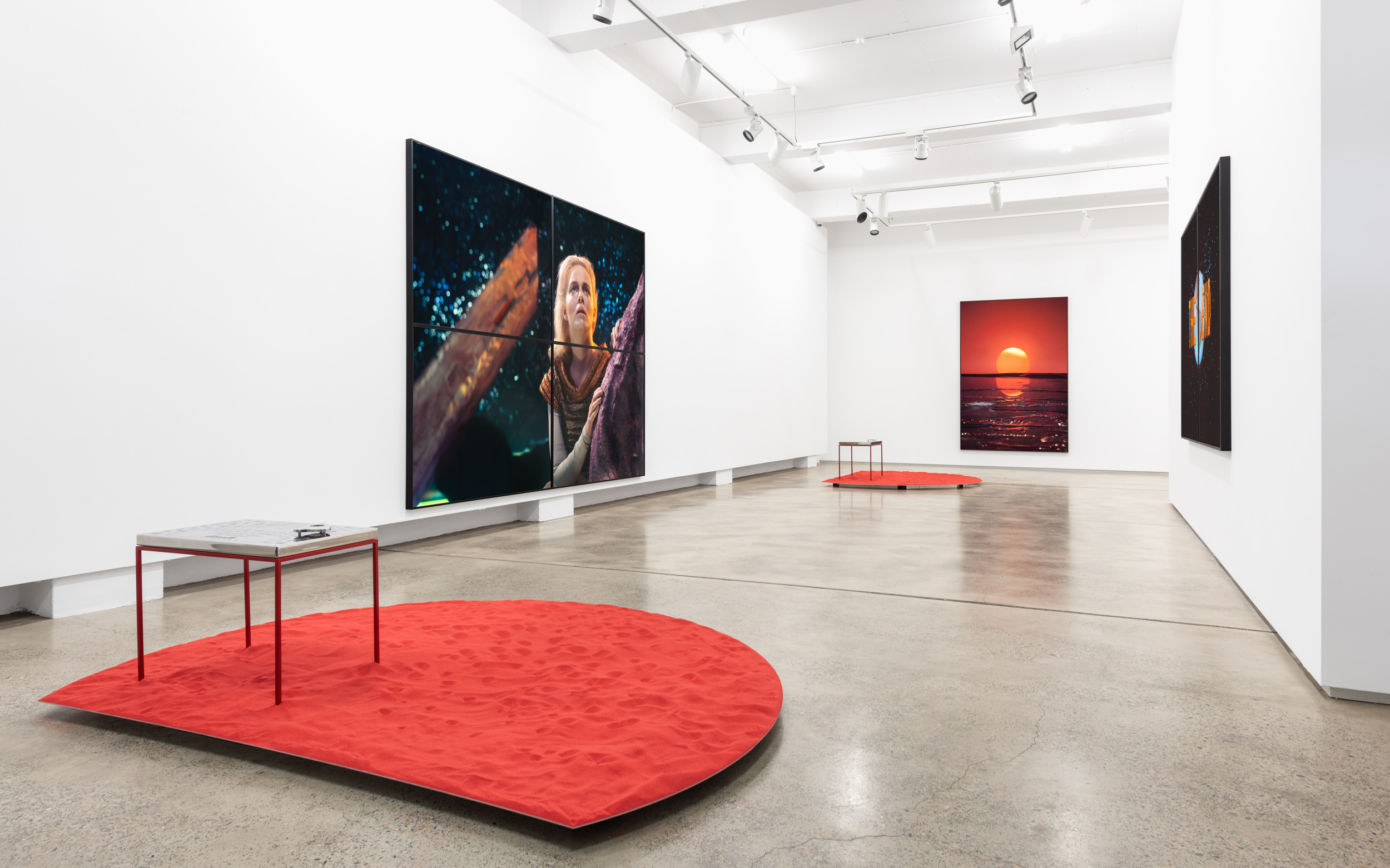 Installation view, Darren Sylvester, Out of Life, 29 Jun–4 Aug 2018, S+S Sydney.