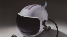 Sam Leach 'High Altitude Helmet with Feather'