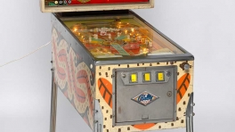Pinball machine from the Tony Albert collection of Aboriginalia